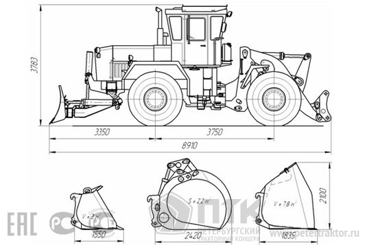 Kirovets trattori Ba9fcd22f776bb87927498ab796b56dafb9a290e