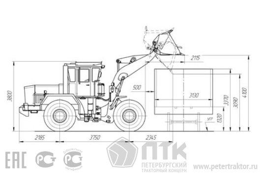 Kirovets trattori A82cbdd61b2d6aa2e4602ea3b6316fac45fc028b